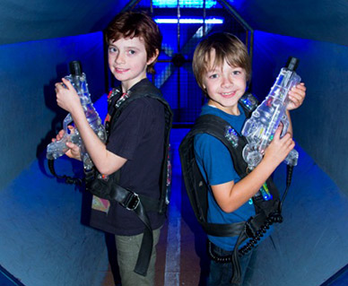 Laser Tag with The Zone